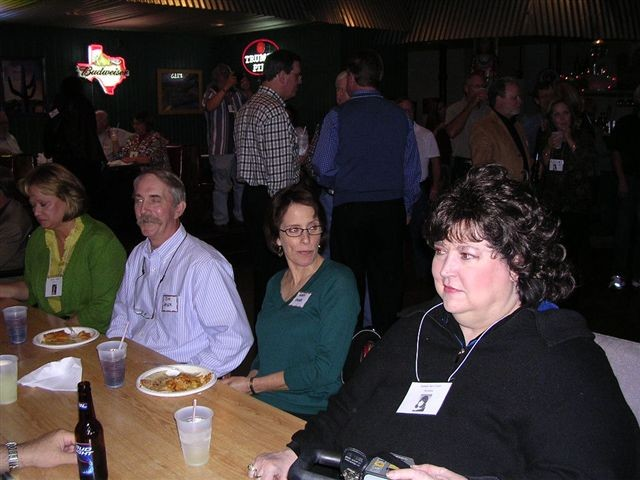 Annette Culwell, Jim Greer & Wife, Donna Harrison