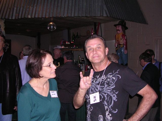 Jim Greer's Wife & Bronnie Helton