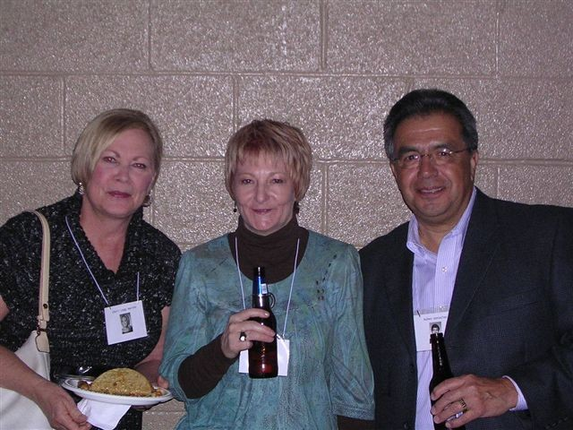 Cheri Legg, Jan Pierce, Ruben Gonzales